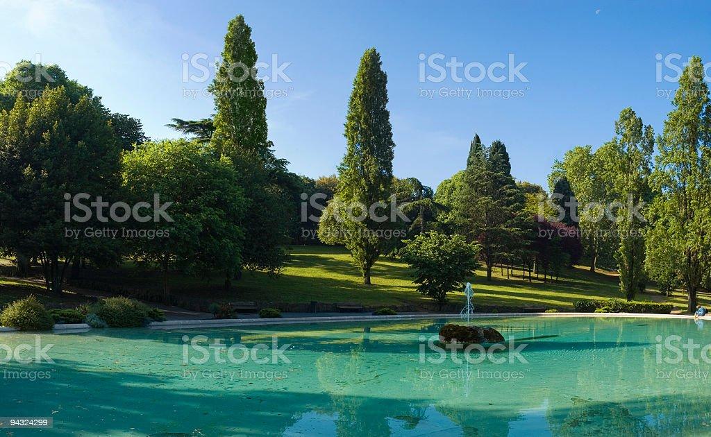 Parco della Villa Borghese, Rome stock photo