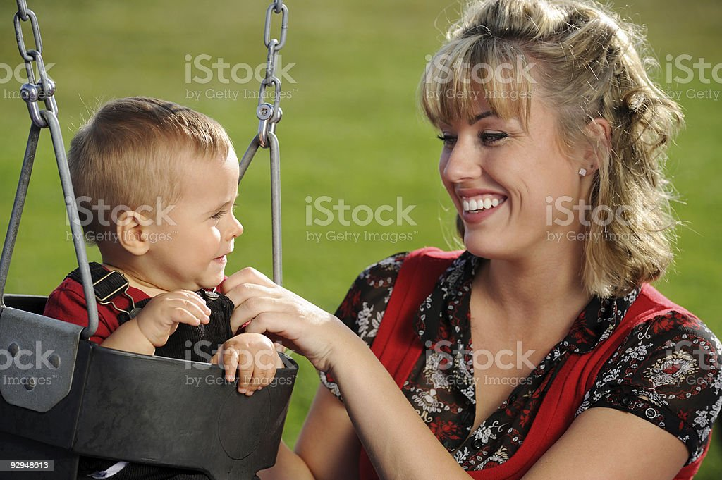 Parent and Child royalty-free stock photo