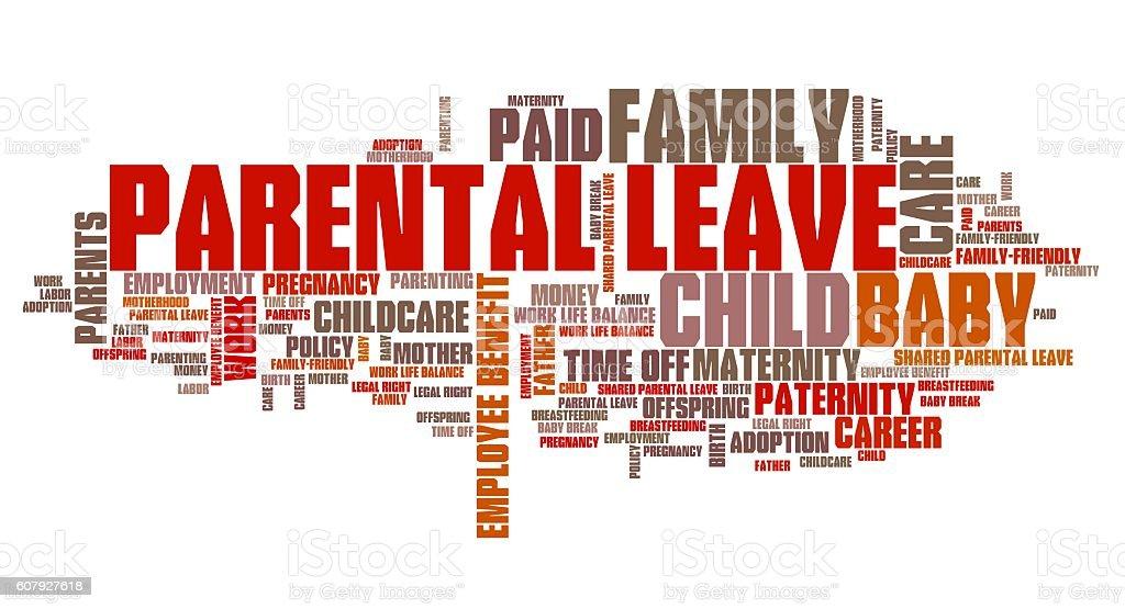 Parental leave stock photo