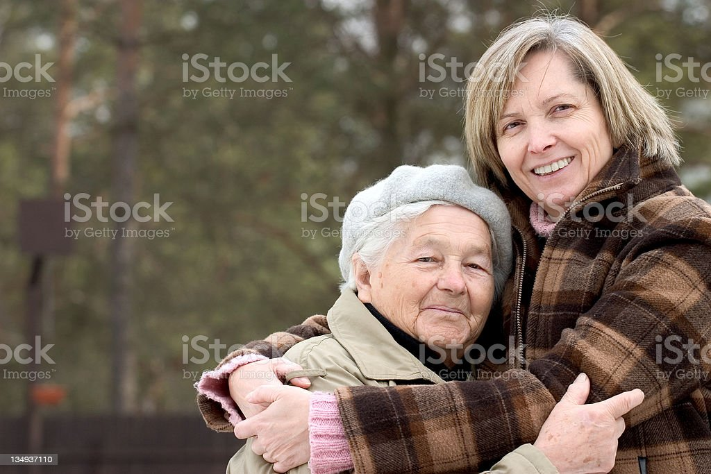 Parental love royalty-free stock photo
