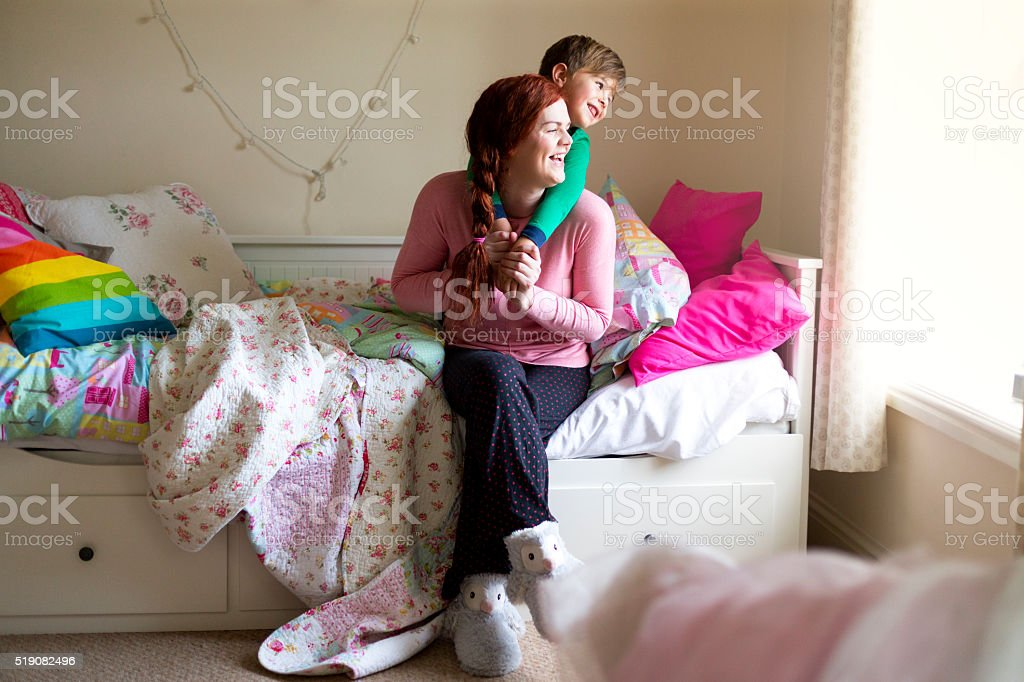 Parenting is such a pleasure stock photo