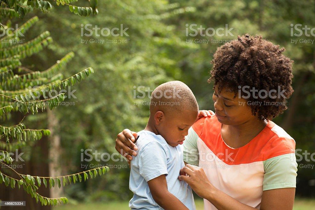 Parenting stock photo
