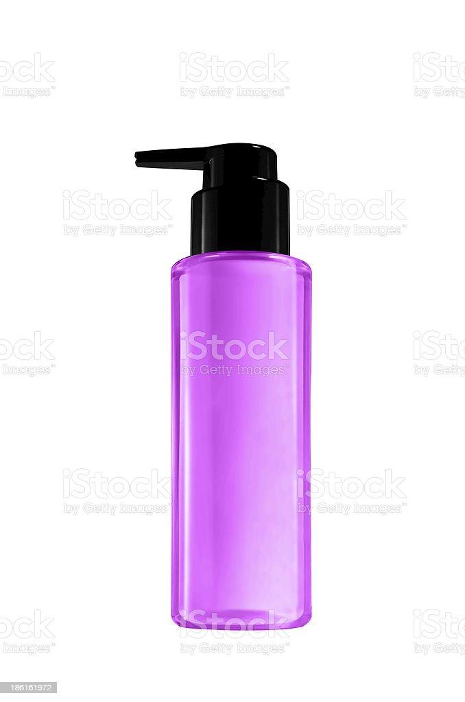 Parfume gel isolated on white background royalty-free stock photo