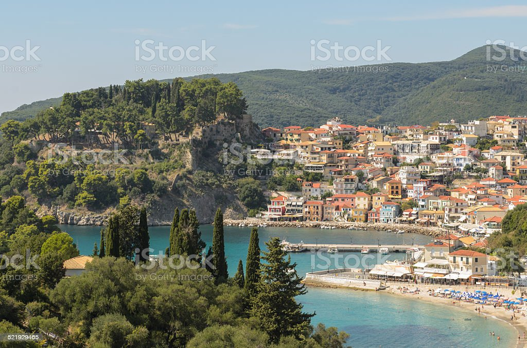 Parga, Greece stock photo