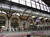 Parigi - Interno di Gare de Lyon