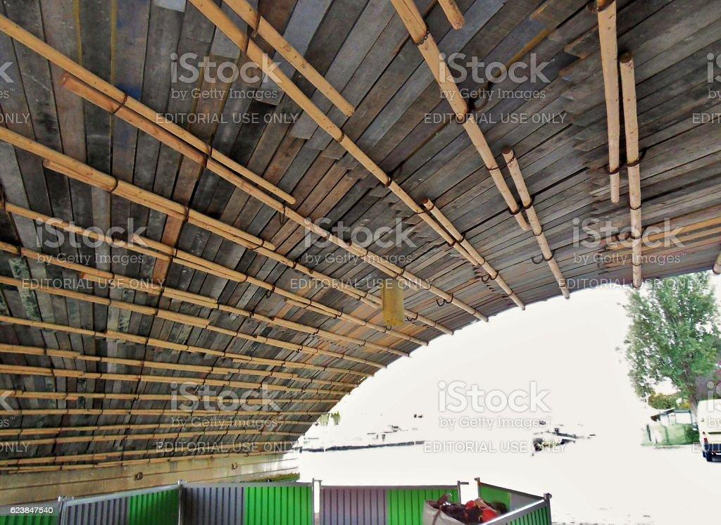 Parigi - Pont de Sully stock photo