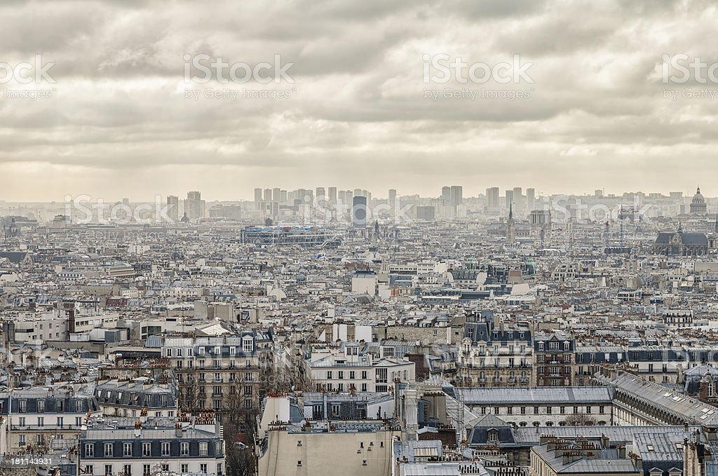 Paris City royalty-free stock photo