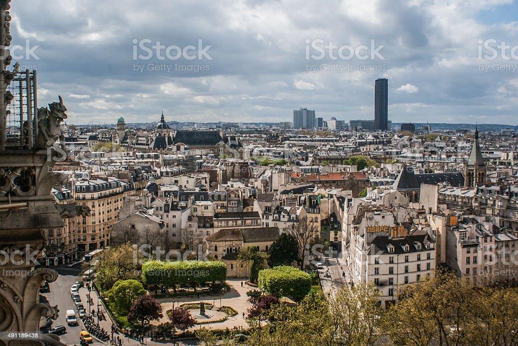 Paysage urbain de Paris photo libre de droits