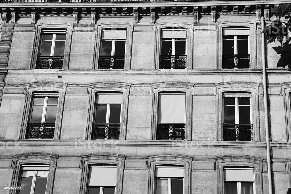Paris cladding royalty-free stock photo
