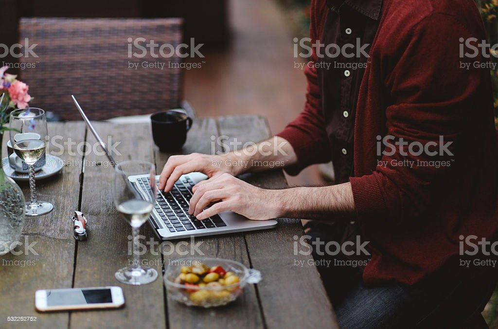 Paris co-working space stock photo