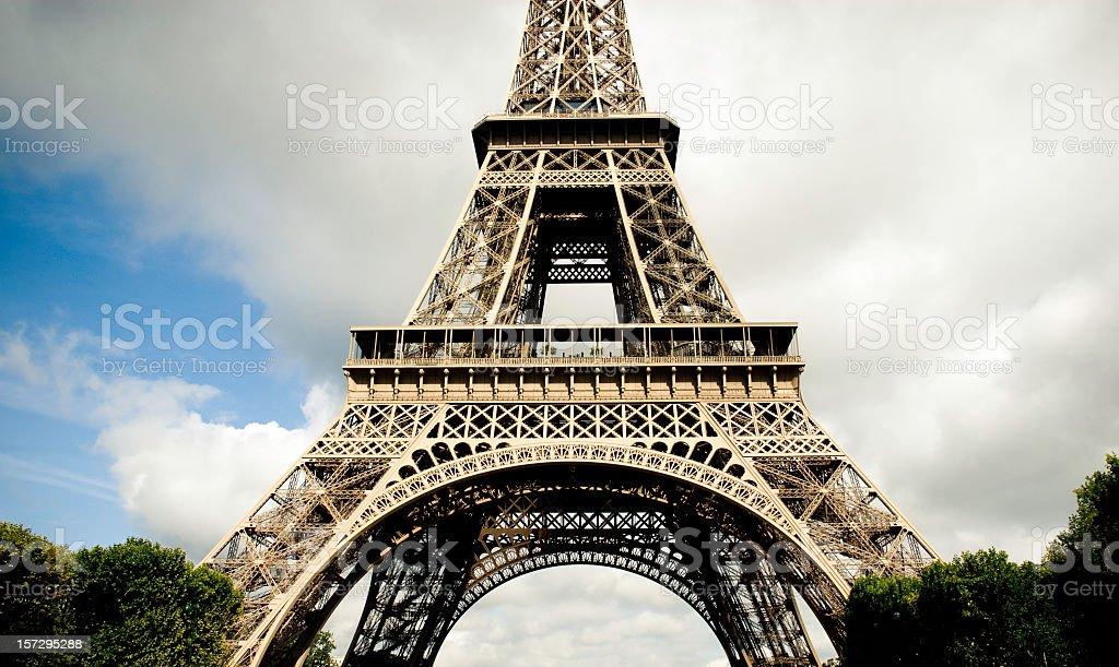 Paris Eiffel Tower royalty-free stock photo