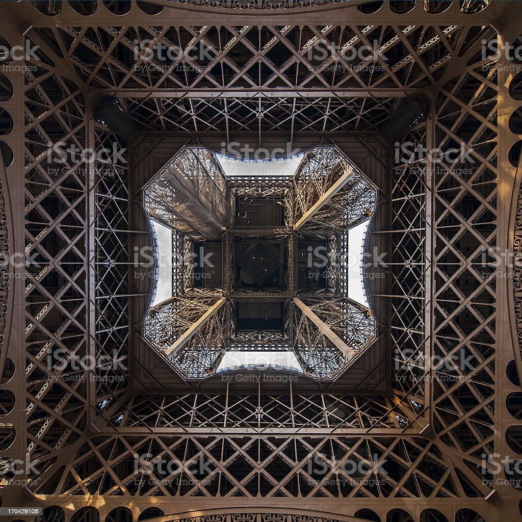 Paris - Eiffel Tower royalty-free stock photo
