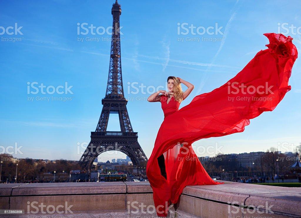 Paris feelings stock photo