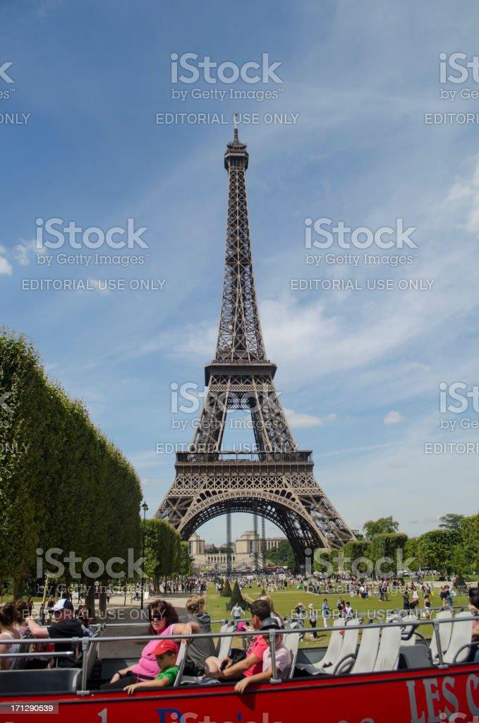 Paris France, Eiffel Tower royalty-free stock photo