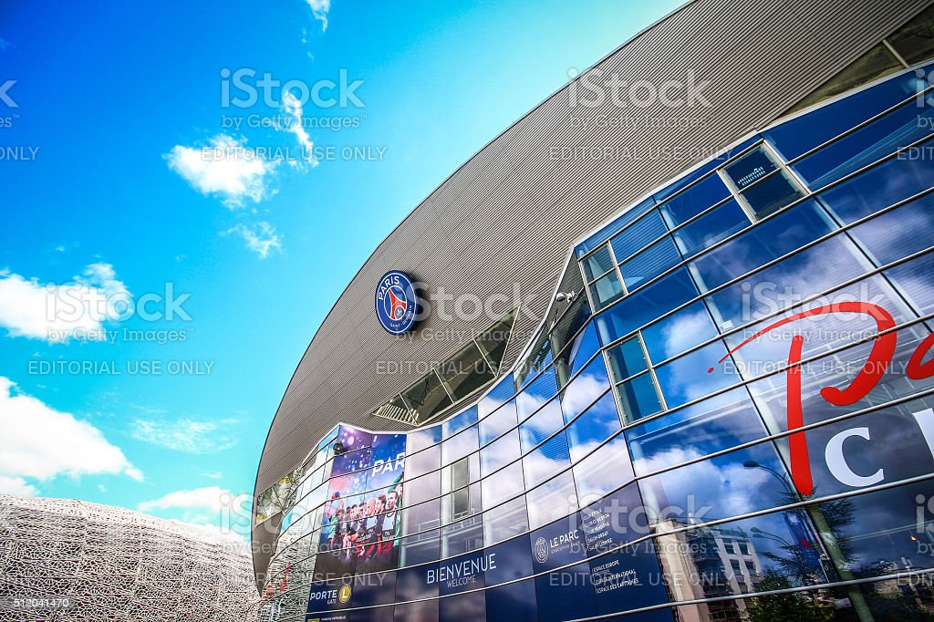 Paris, France - May 09, 2014 - Paris Saint-Germain FC stock photo