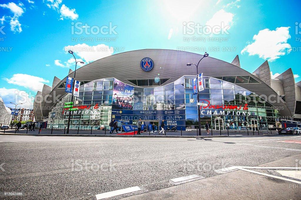 Paris, France - May 09, 2014 - Paris Saint-Germain FC stock photo