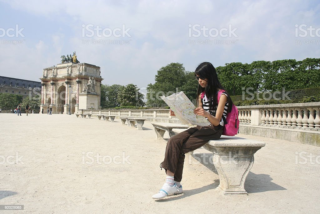Paris Holiday royalty-free stock photo