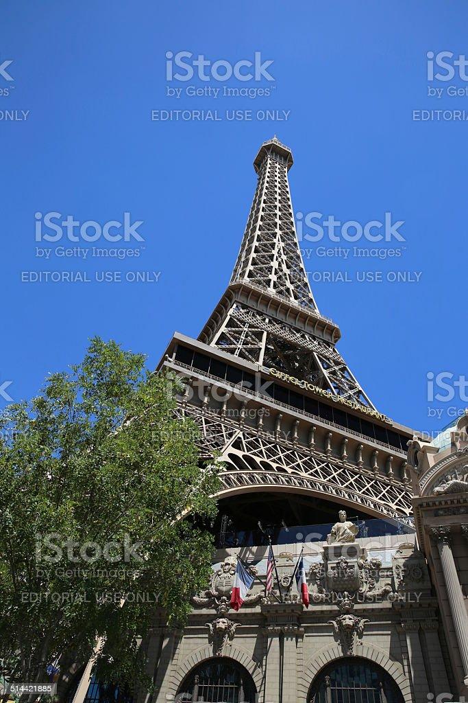 Paris Hotel in Las Vegas stock photo