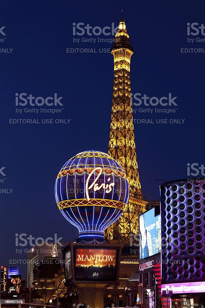 Paris Las Vegas Hotel and Casino stock photo