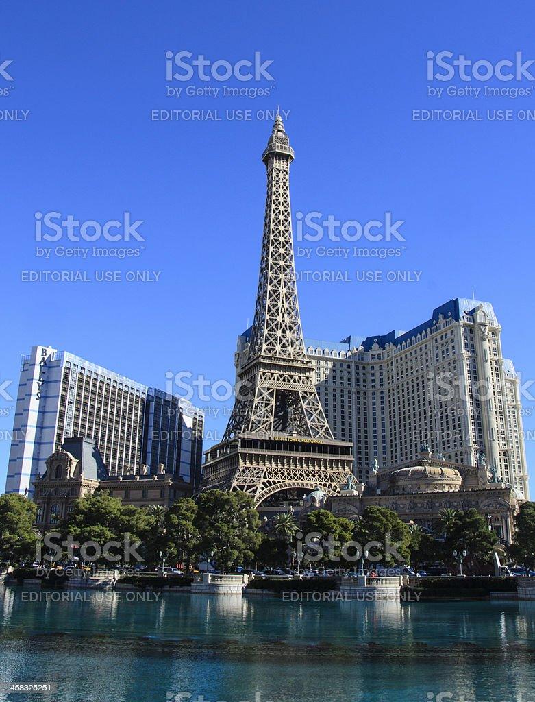Paris Las Vegas Hotel stock photo