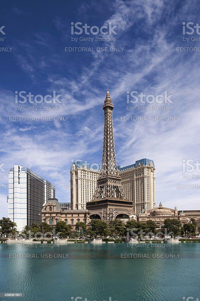 Paris Las Vegas royalty-free stock photo