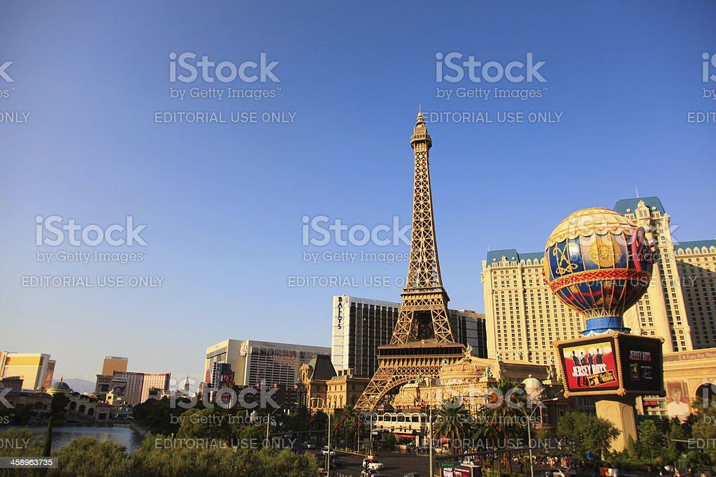 Paris Las Vegas stock photo