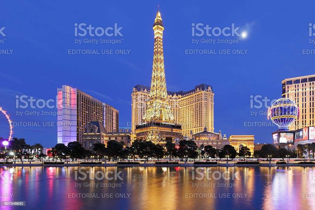 Paris - Las Vegas stock photo