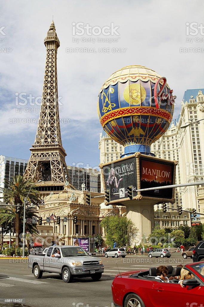 Paris Las Vegas Resort and Casino stock photo