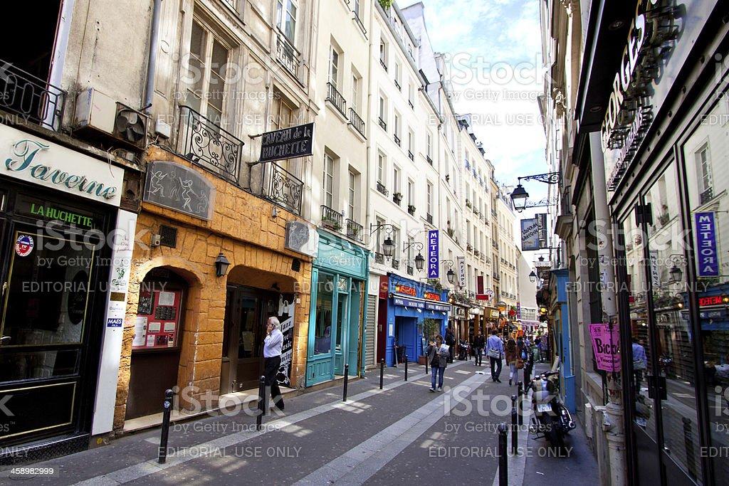 Paris, Latin Quarter. royalty-free stock photo