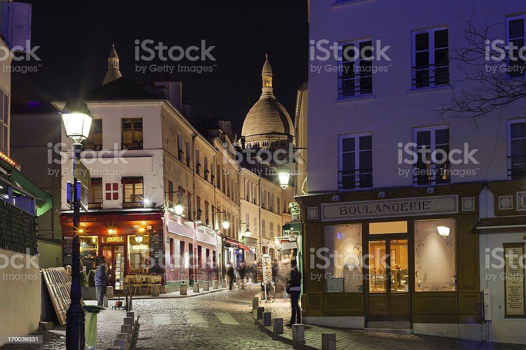 Paris, Montmartre, France stock photo