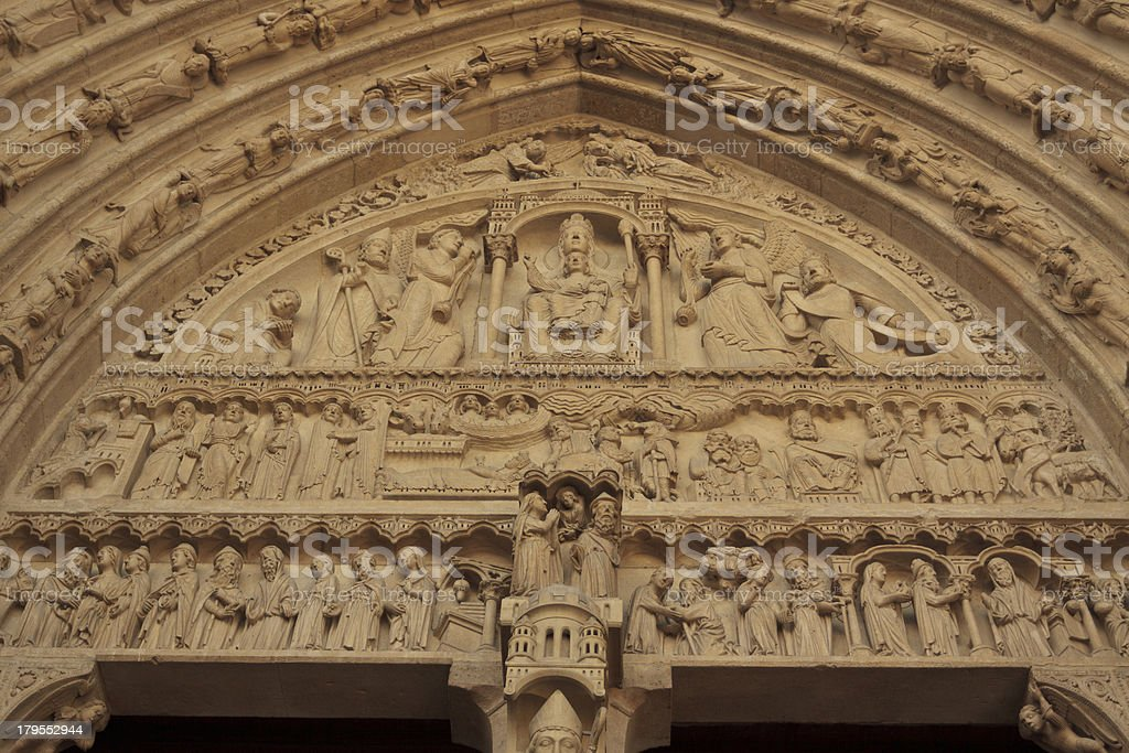 Paris - Notre Dame royalty-free stock photo