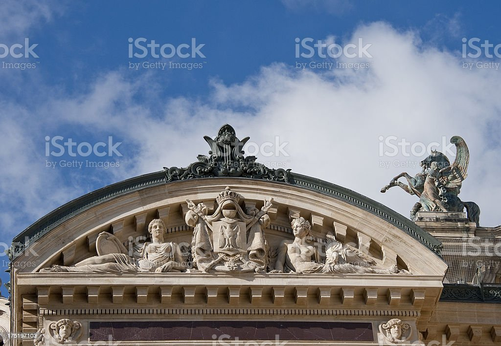 Paris Opera House. royalty-free stock photo