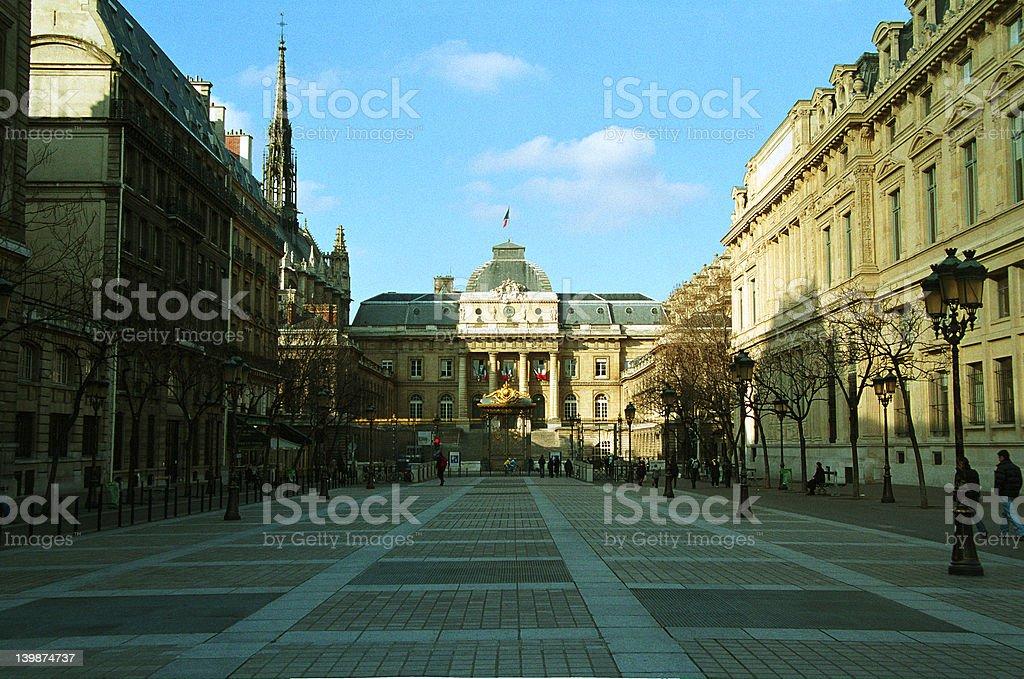 Paris - Palais de Justice stock photo