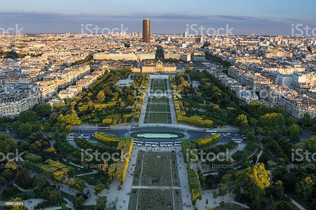 Paris Panorama stock photo