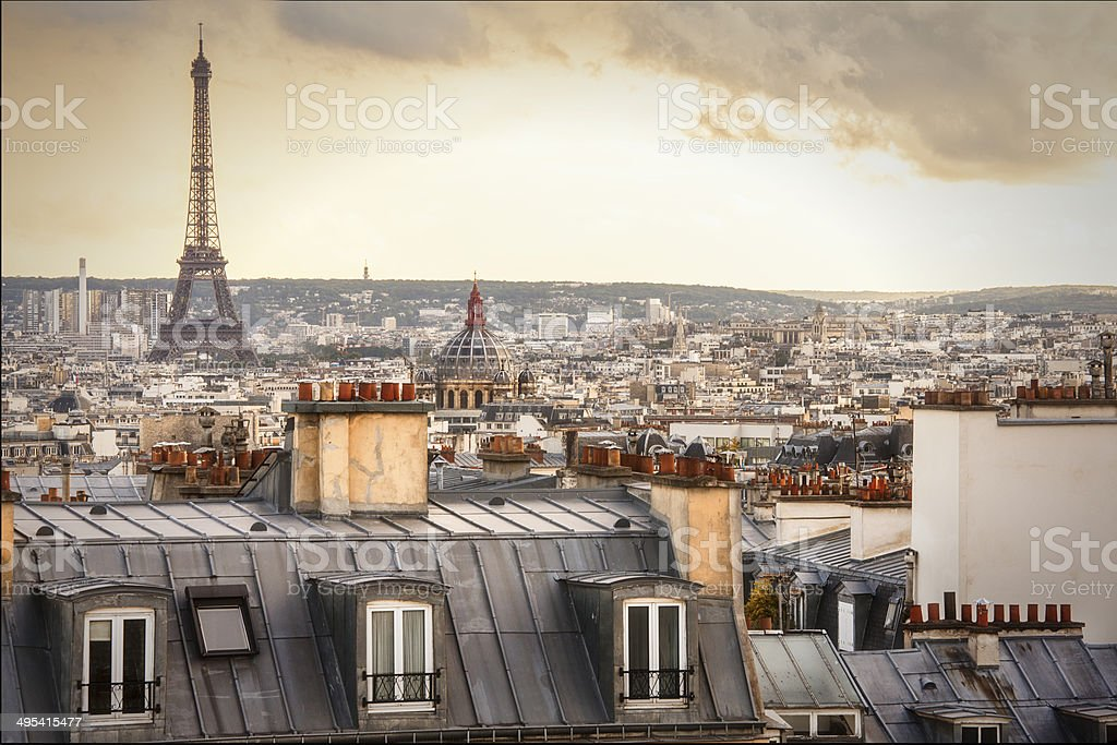 Paris stock photo