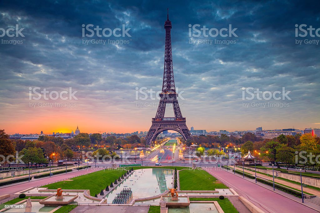 Paris. stock photo