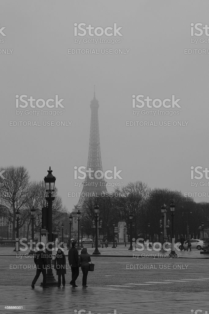 Paris, Place de la Concorde stock photo