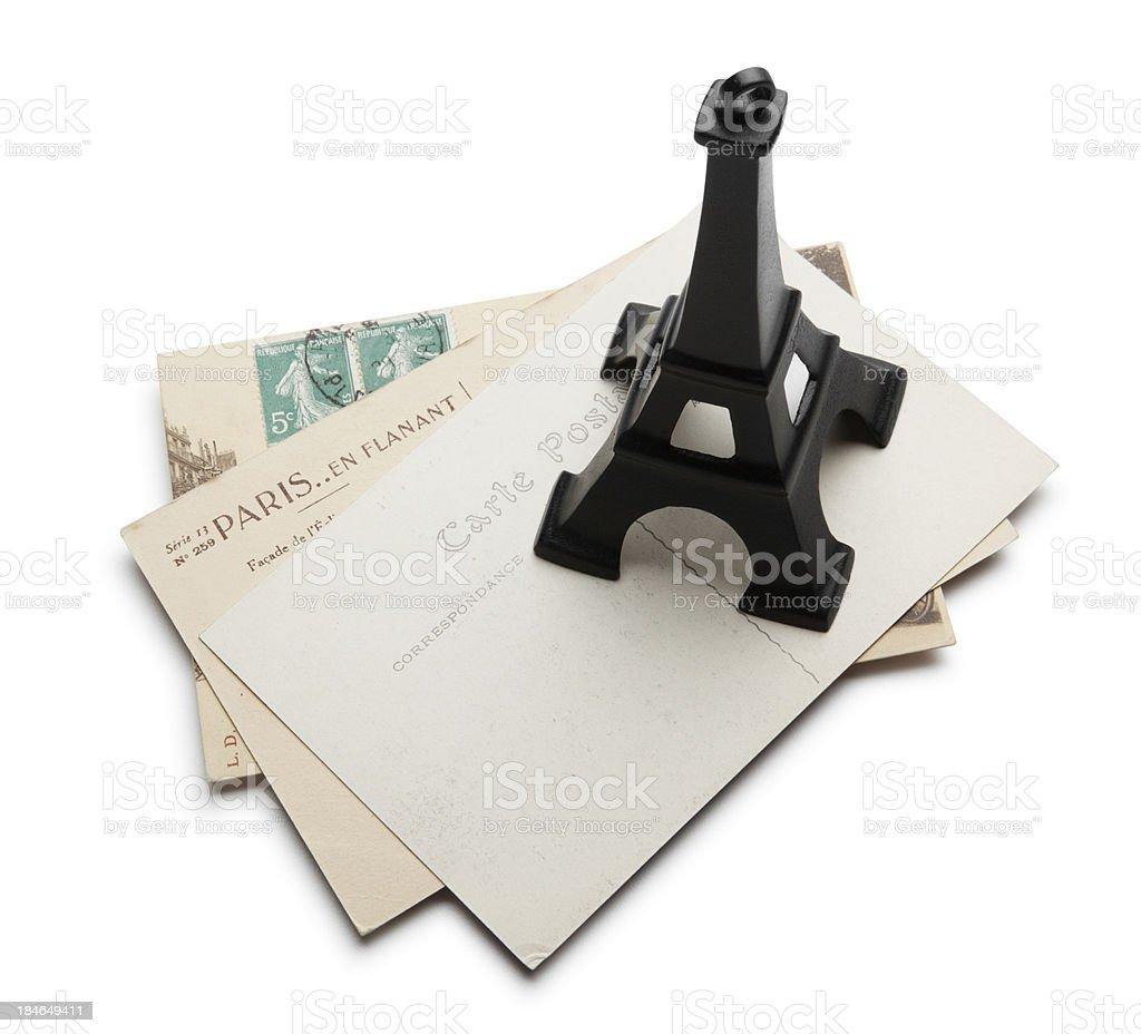 Paris Postcards royalty-free stock photo