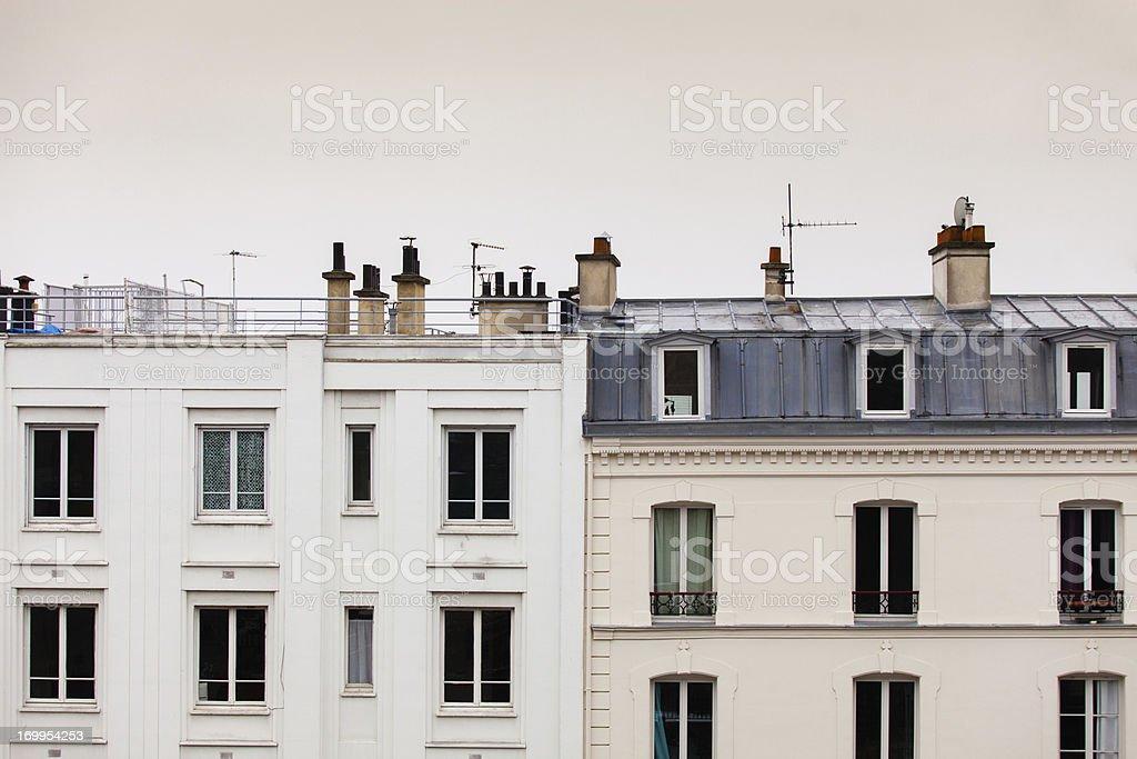Paris Roofline stock photo