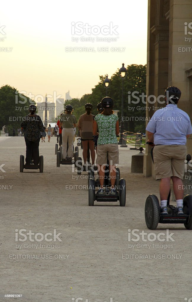 Paris Segway royalty-free stock photo