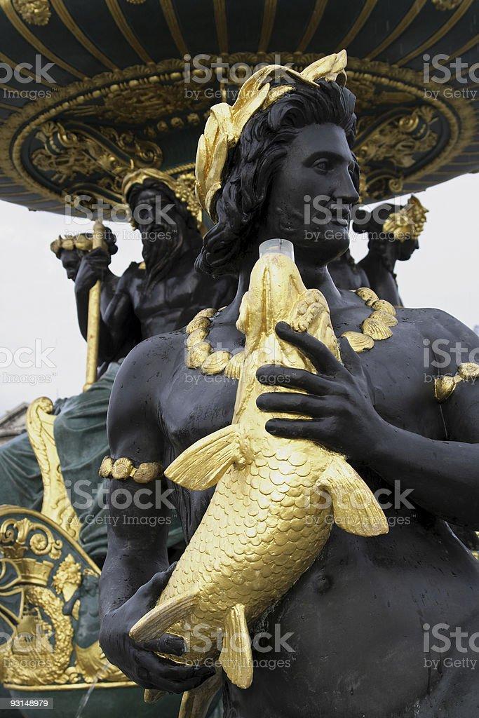 Paris Statue royalty-free stock photo