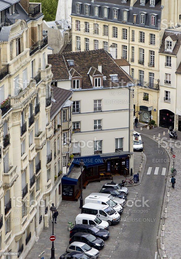Paris street royalty-free stock photo