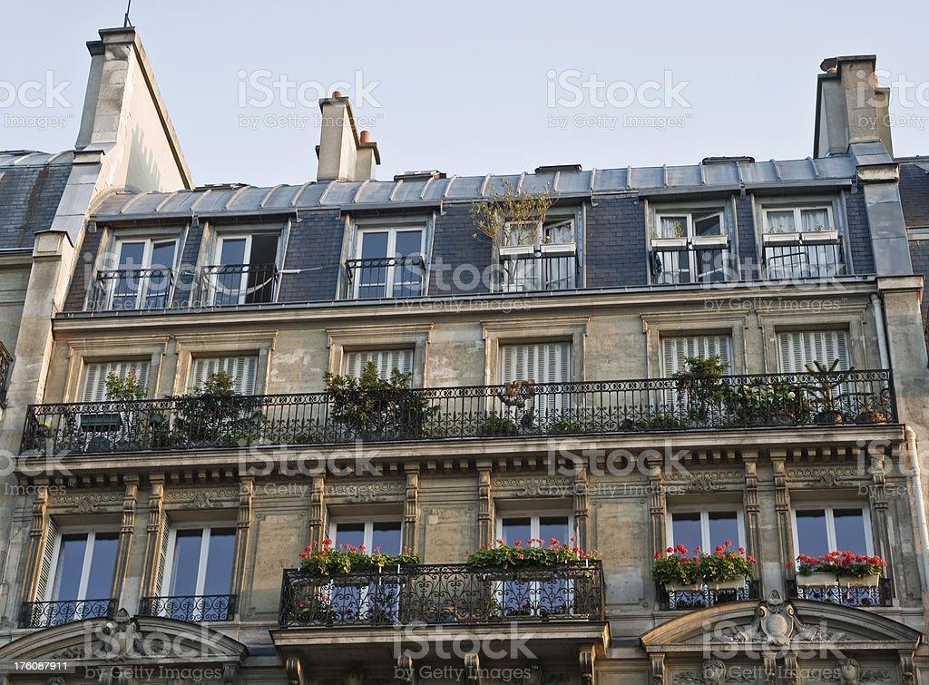 Paris Streetscape stock photo