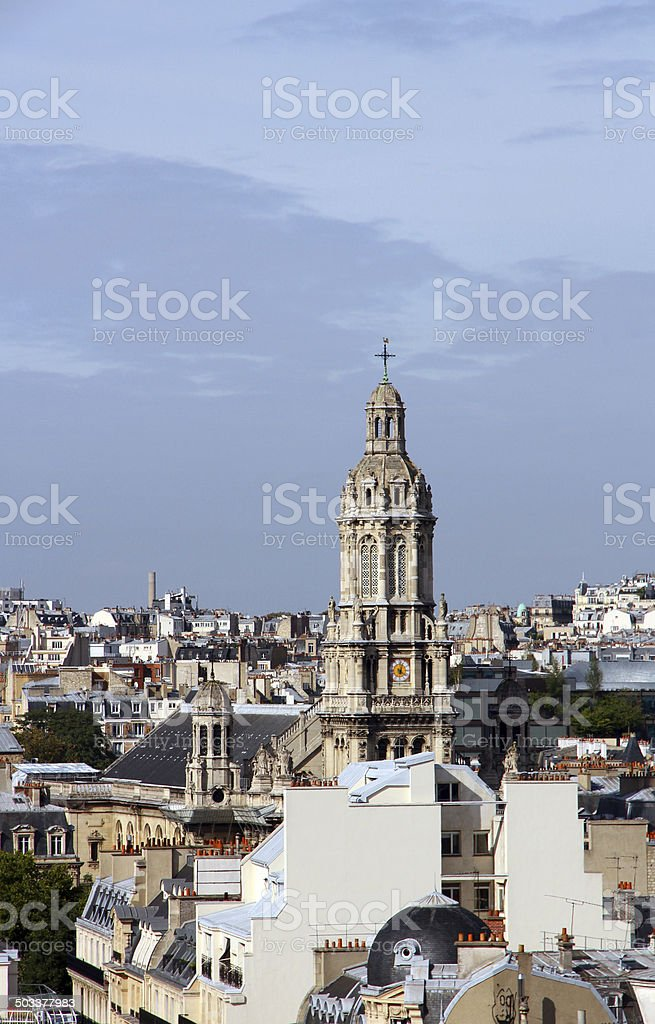 Paris Temple royalty-free stock photo
