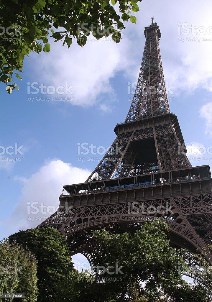 Paris Tour de Eiffel stock photo
