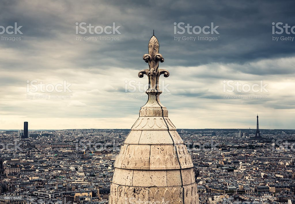 Paris Towers stock photo