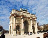 Parigi - Arco di Triofo del Carrousel