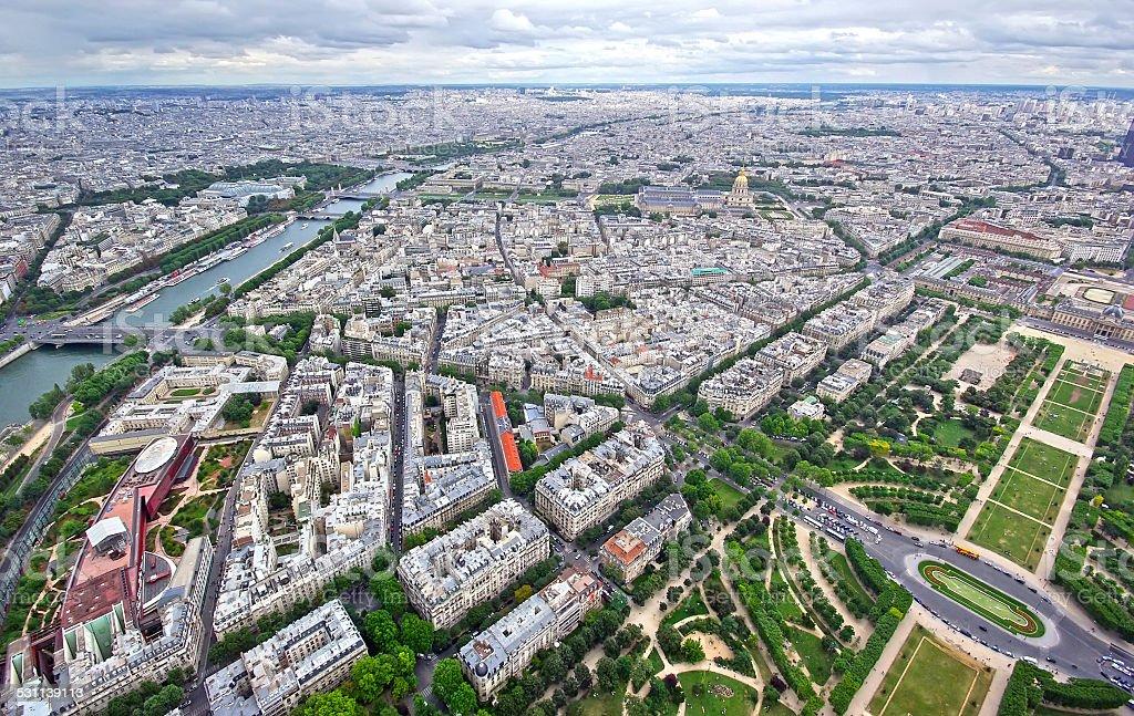 Paris, up view stock photo
