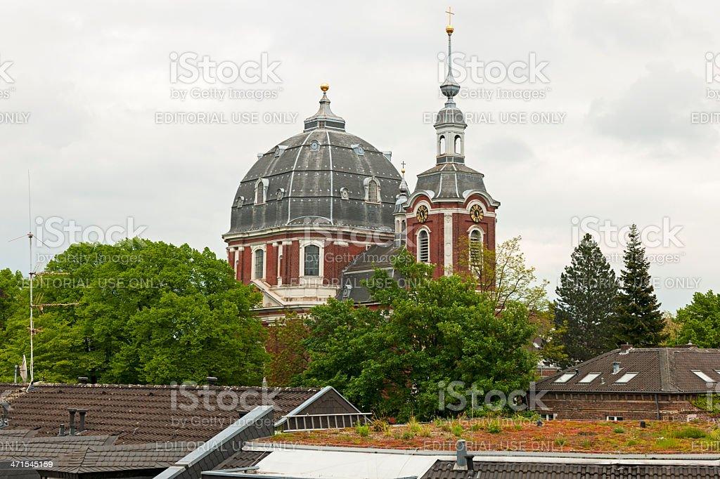 Parish Church of St. John the Baptist royalty-free stock photo