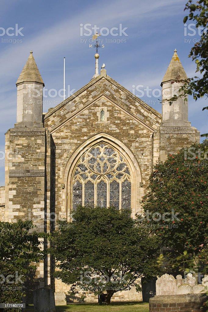 Parish Church of St Mary at Rye royalty-free stock photo